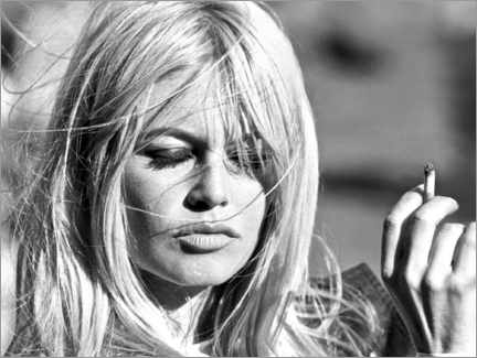 Premium-Poster  Brigitte Bardot ? Vom Winde verweht - Celebrity Collection