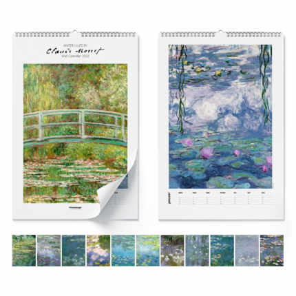 Wandkalender  Claude Monet, Water Lilies 2020 - Claude Monet
