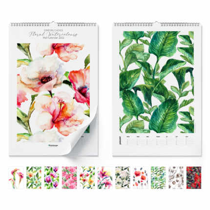Wandkalender  Floral Watercolours 2020