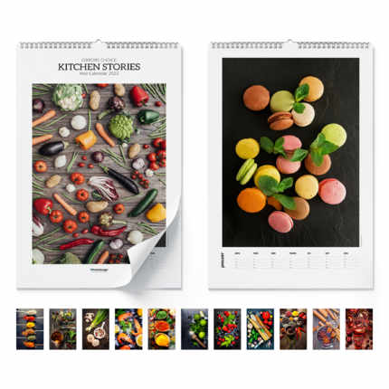 Wandkalender  Kitchen Stories 2021