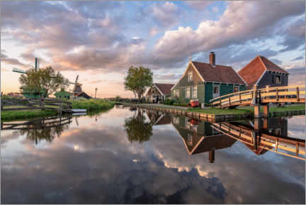 Leinwandbild  Hollandromantik - Achim Thomae
