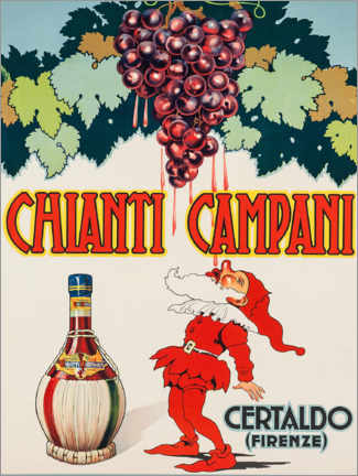 Hartschaumbild  Chianti Campani - Advertising Collection