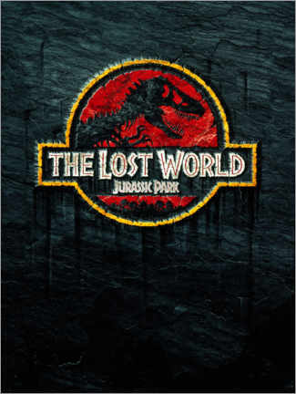 Leinwandbild  The Lost World - Jurassic Park