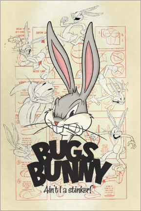 Premium-Poster  Bugs Bunny - Ain't I a stinker!