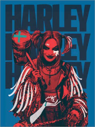 Premium-Poster  Mad Harley