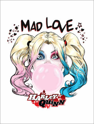 Premium-Poster  Mad Love Harley