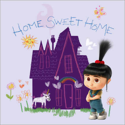 Premium-Poster  Agnes - Home sweet home