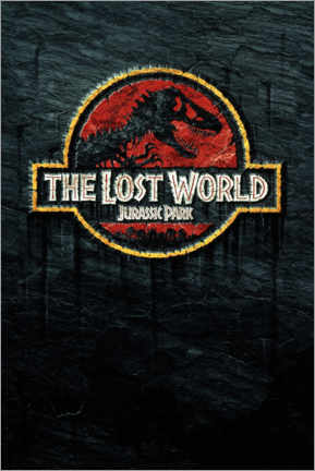 Wandsticker  The Lost World - Jurassic Park