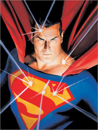 Holzbild  Superman - Man of Steel
