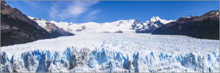 Leinwandbild  Perito Moreno Gletscher in Argentinien - Matthew Williams-Ellis