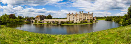 Hartschaumbild  Leeds Castle Architektur - Matthew Williams-Ellis