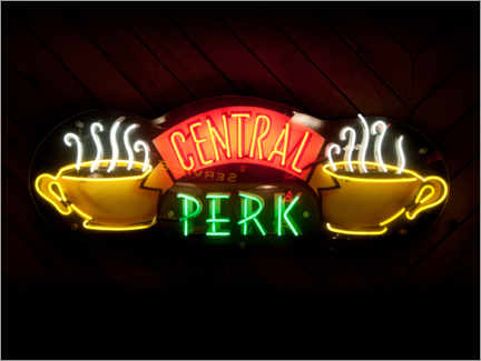 Acrylglasbild  Friends - Central Perk Café