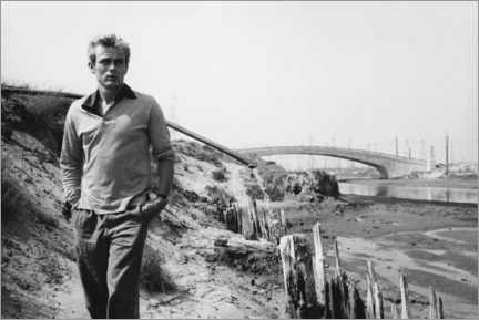 Acrylglasbild  James Dean - Sanford Roth