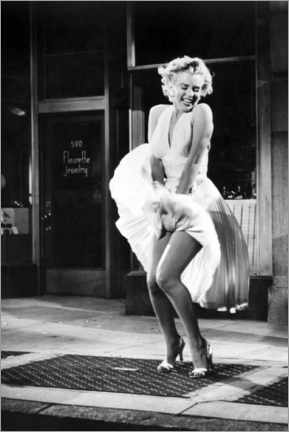 Acrylglasbild  Marilyn - The Seven Year Itch iconic pose - Celebrity Collection