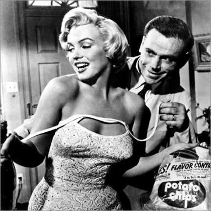 Acrylglasbild  The Seven Year Itch - Potato Chips - Celebrity Collection