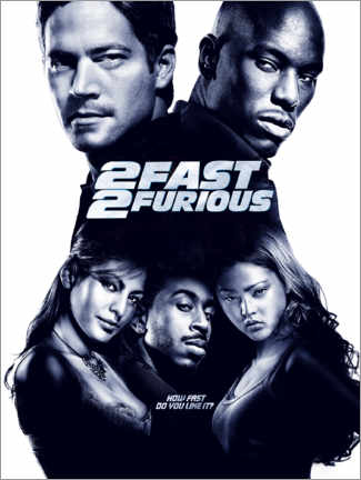 Gallery Print  2 Fast 2 Furious