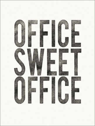 Holzbild  Office Sweet Office - Wild Apple Portfolio