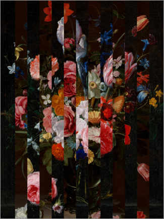 Holzbild  Shifted Flemish Bouquet I - Jacob Green