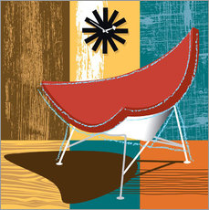 Wandsticker Lounge Chair II