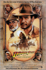 Wandsticker  Indiana Jones und der letzte Kreuzzug (Englisch) - Entertainment Collection