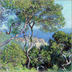Hartschaumbild  Bordighera - Claude Monet