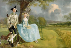 Gallery Print  Mr. und Mrs. Andrews - Thomas Gainsborough
