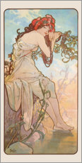 Gallery Print  Sommer - Alfons Mucha