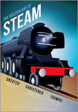 Wandsticker  Flying Scotsman - Advertising Collection