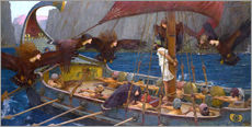 Gallery Print  Odysseus und Sirenen - John William Waterhouse