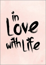 Gallery Print  in love with life - m.belle