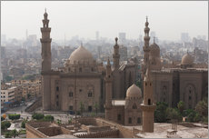 Wandsticker  Mosque of Sultan Hassan in Cairo old town, Cairo, Egypt, North Africa, Africa - Martin Child