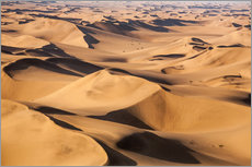 Gallery Print  Aerial view of the dunes of the Namib Desert, Namibia, Africa - Roberto Moiola