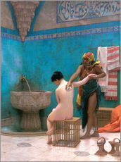 Wandsticker  Das Bad - Jean Leon Gerome