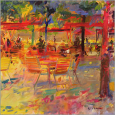 Peter Graham - Lunch on the Terrace
