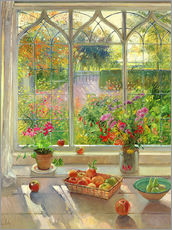 Gallery Print  Blick in den Garten - Timothy Easton