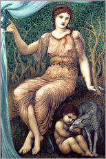 Wandsticker  Erdmutter  - Edward Burne-Jones