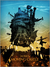 Wandsticker  Howl's Moving Castle 2 (Das wandelnde Schloss) - Albert Cagnef