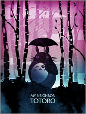 Wandsticker  My Neighbor Totoro - Albert Cagnef