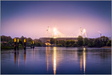 Wandsticker  Bremer Stadion - Tanja Arnold Photography