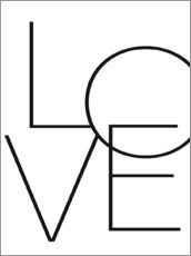 Gallery Print  Love - Liebe - Finlay and Noa