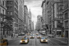 Gallery Print  NYC 5th Avenue Verkehr - Melanie Viola