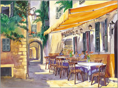 Gallery Print  Cafe Provence - Paul Simmons