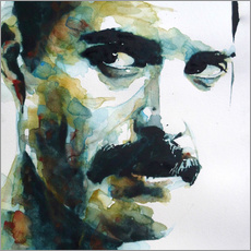 Wandaufkleber  Freddie Mercury - Paul Paul Lovering Arts