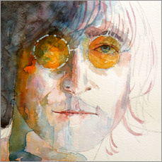 Wandsticker  John Winston Lennon - Paul Lovering