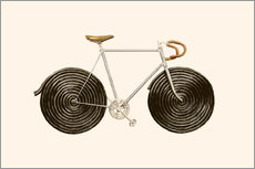 Wandaufkleber  Licorice Bike - Florent Bodart