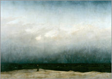 Gallery Print  Der Mönch am Meer - Caspar David Friedrich