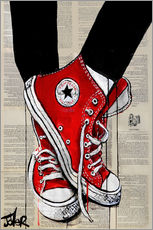 Gallery Print  red - Loui Jover