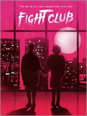 Gallery Print  Fight club movie scene art - 2ToastDesign