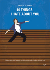 Wandsticker  10 Things I Hate About You - chungkong