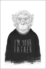 Wandsticker I'm your father